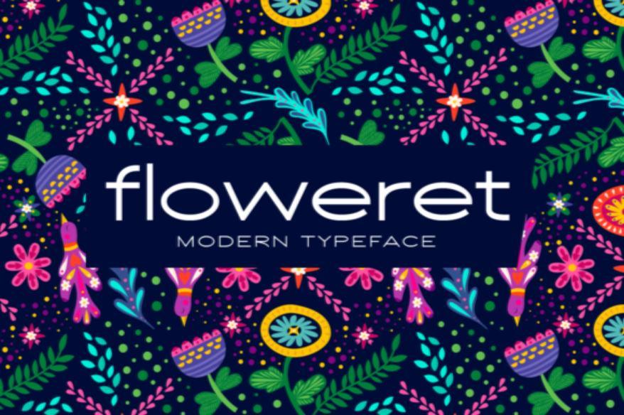 Floweret Font