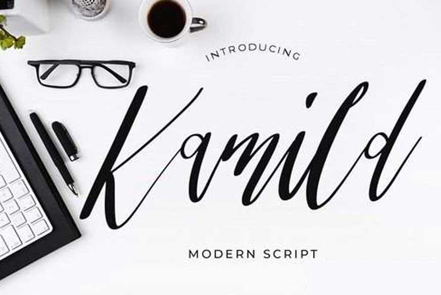 Kamild Modern Script