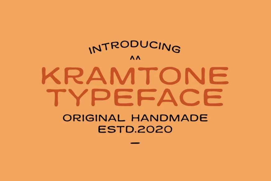 Kramtone Typeface