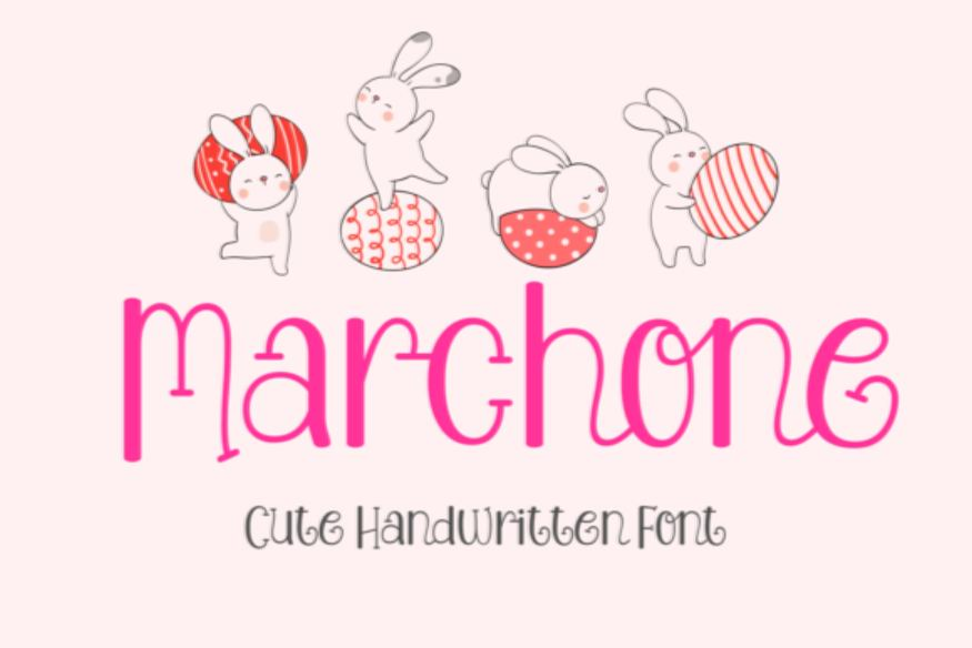 Marchone Font
