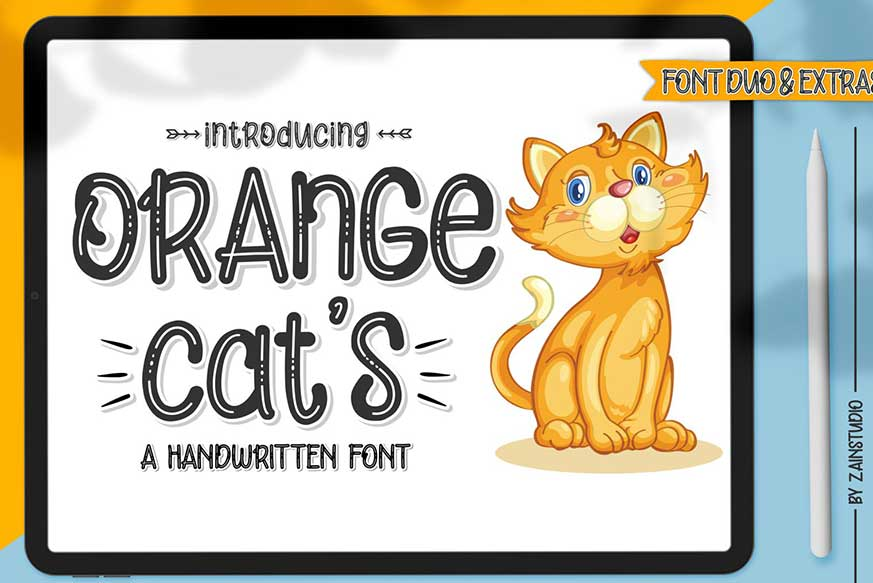 Orange Cat's Font
