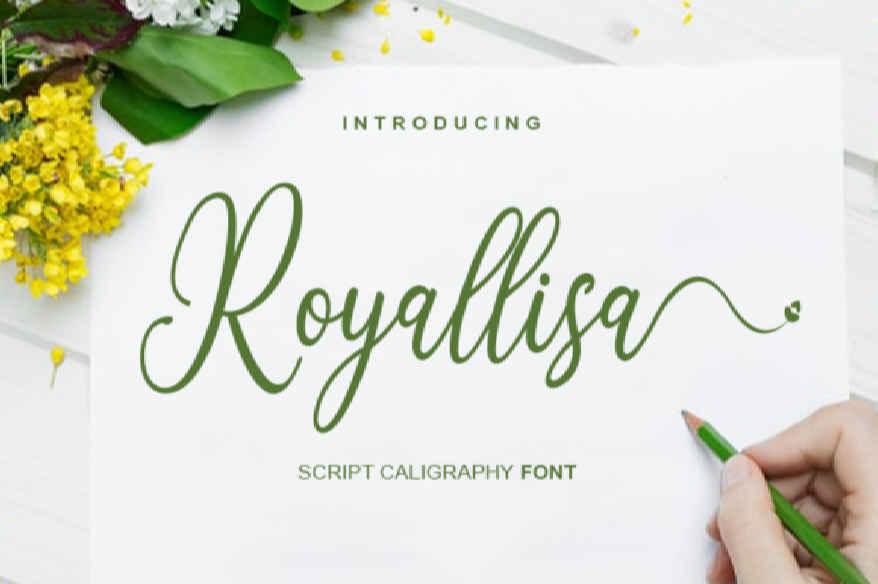 Royallisa Font