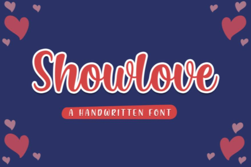 Showlove Font