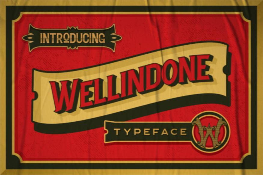 Wellidone Font