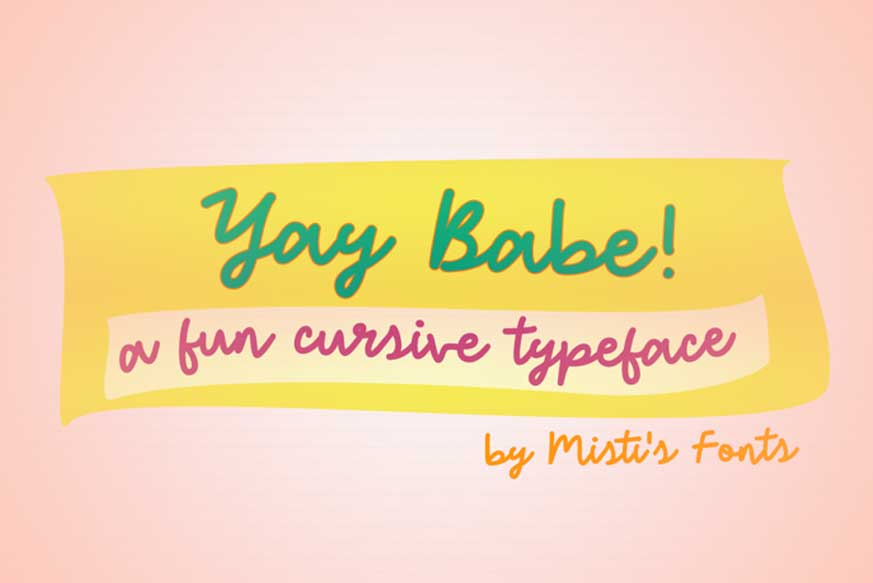 Yay Babe Font
