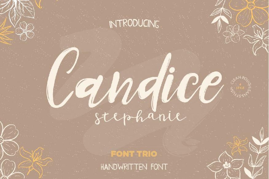 Candice Trio Font