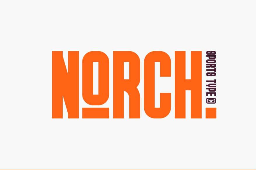 GR NORCH Font