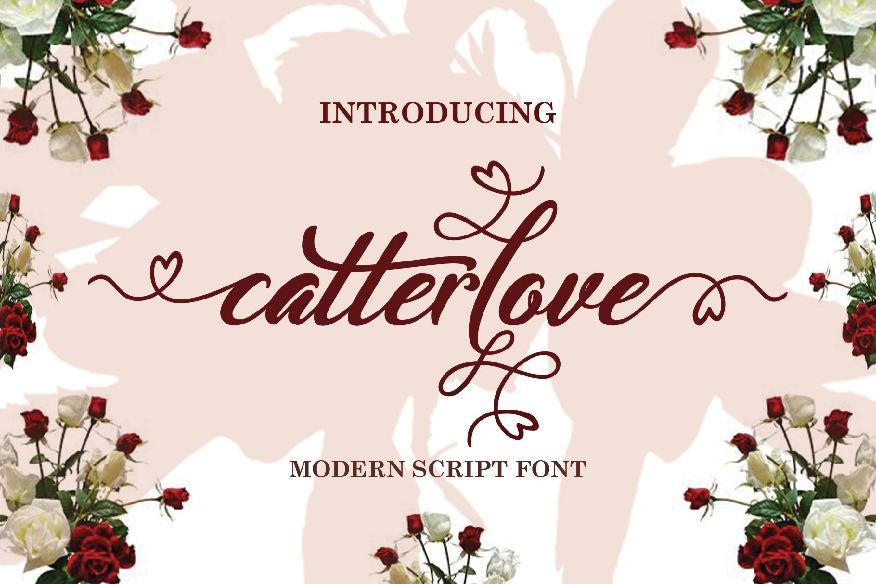Catterlove Font