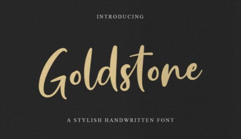 Goldstone Script Font