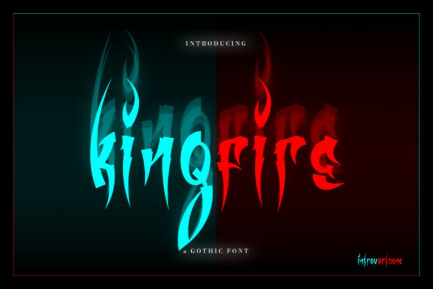 Kingfire Display Font
