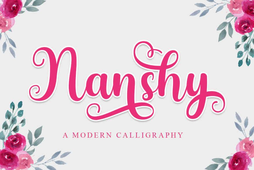 Nanshy Font