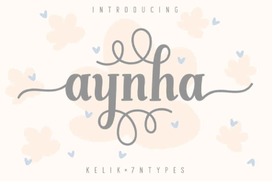 Aynha Font