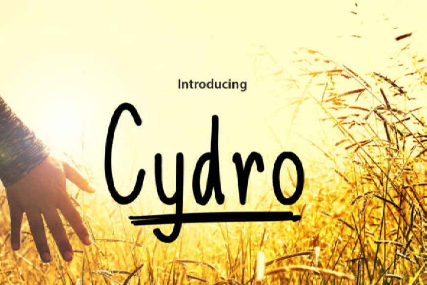 Cydro Font