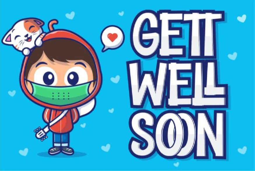 Gett Well Soon Font