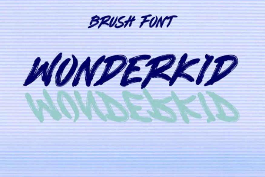Wonderkid Font