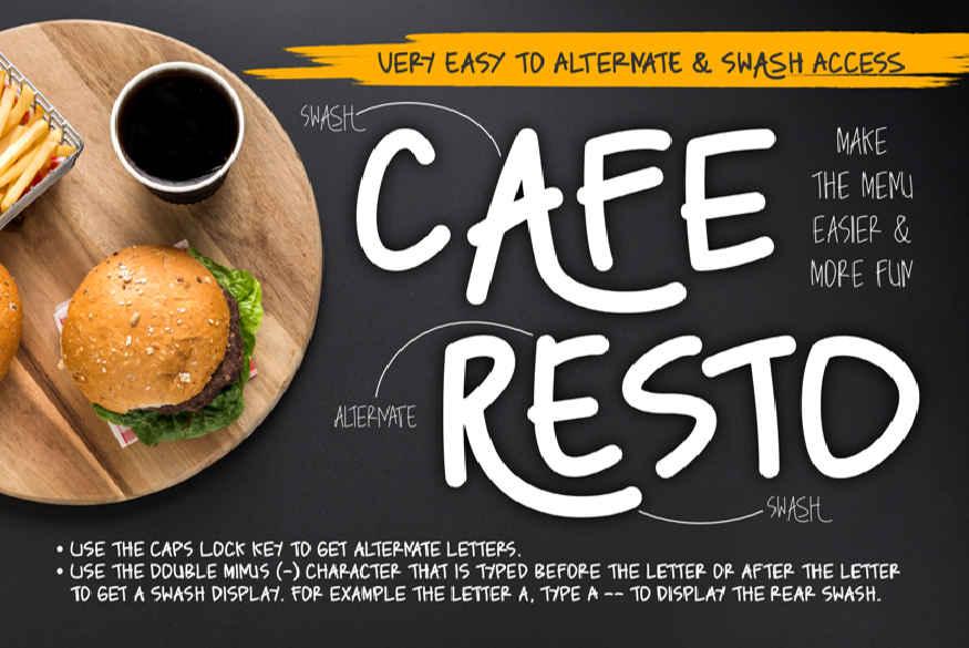 Caferesto Font