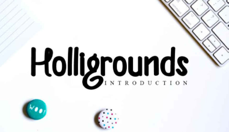 Helligrounds Font