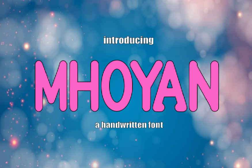 Mhoyan Font