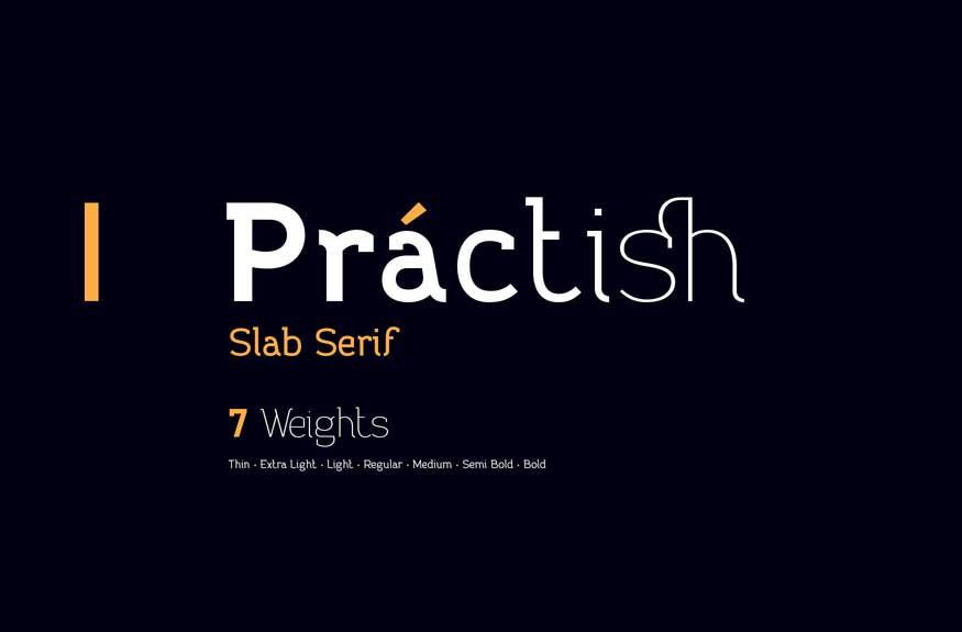 Practish Font Family