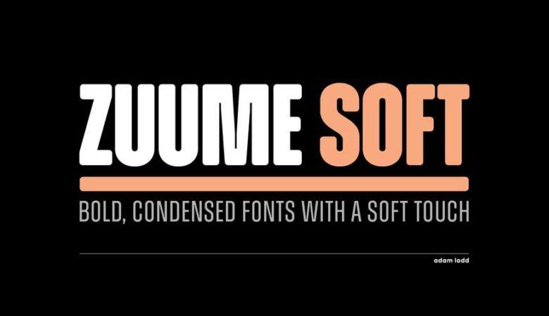 Zuume Soft Font Family