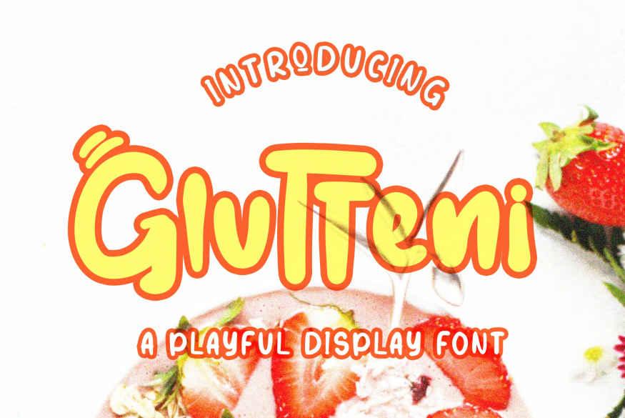 Glutteni Font