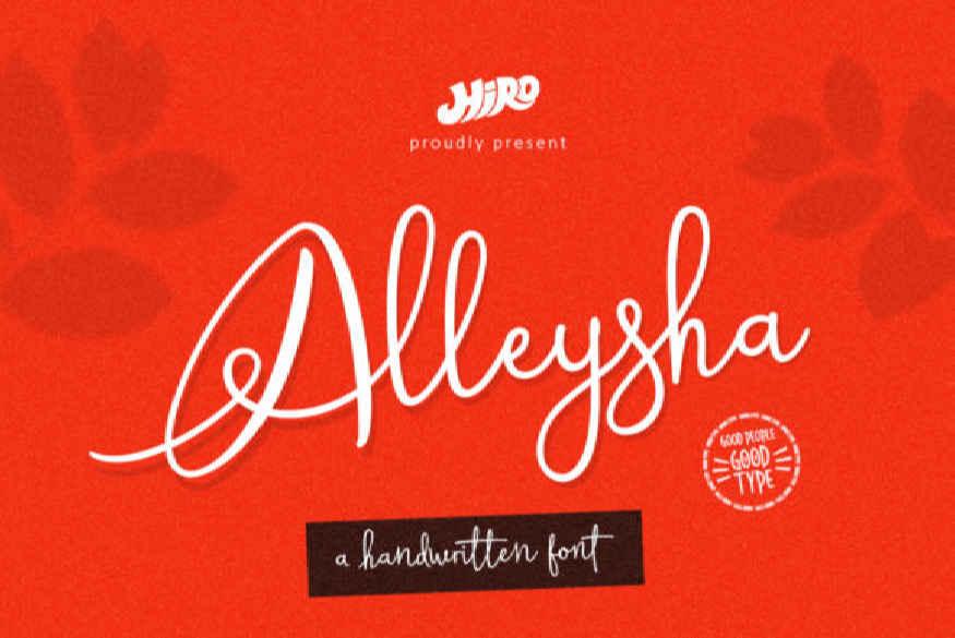 Alleysha Font