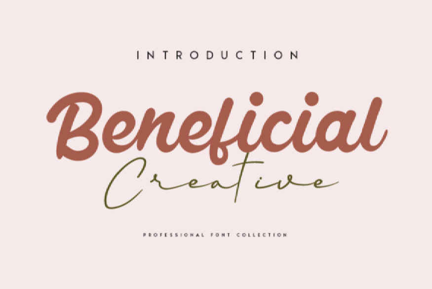 Beneficial Font