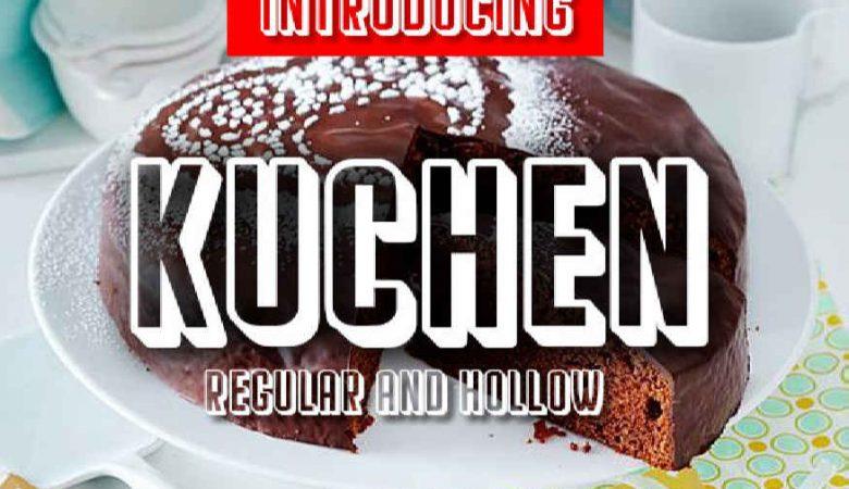 Kuchen Font
