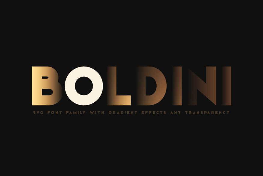 Boldini Font Family