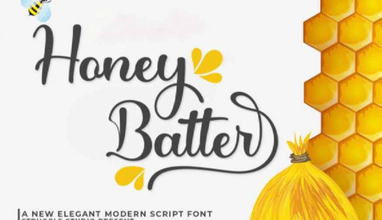 Honey Batter Font
