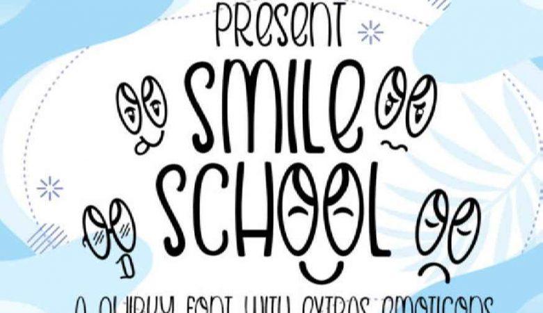 Smile School Font