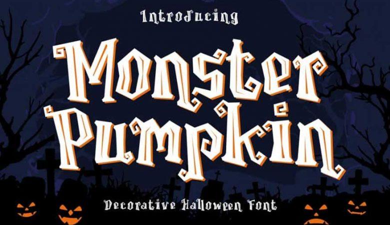 Monster Pumpkin Font