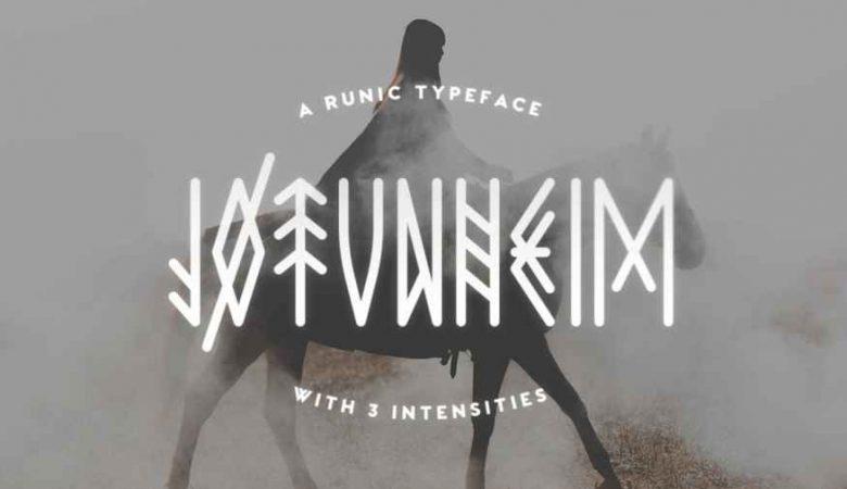 Jotunheim Typeface