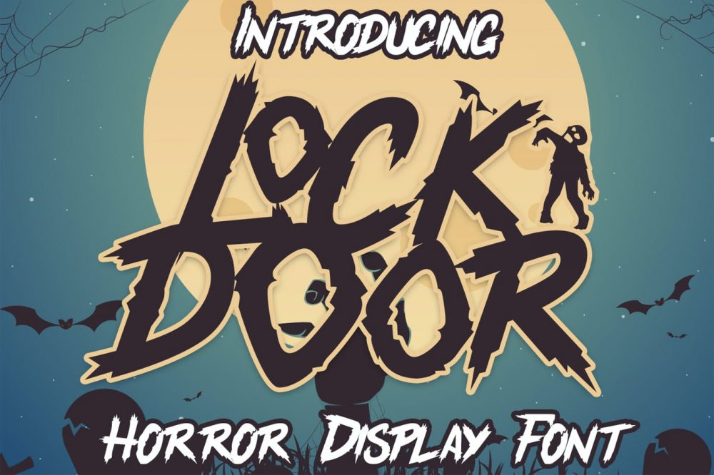 Lockdoor Halloween Font