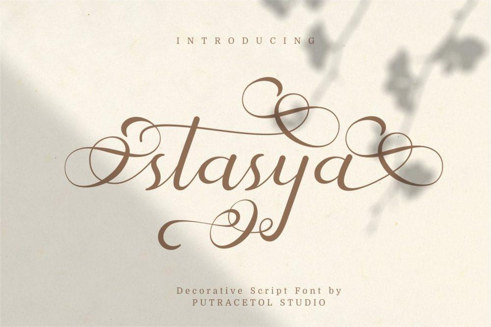 Stasya Font