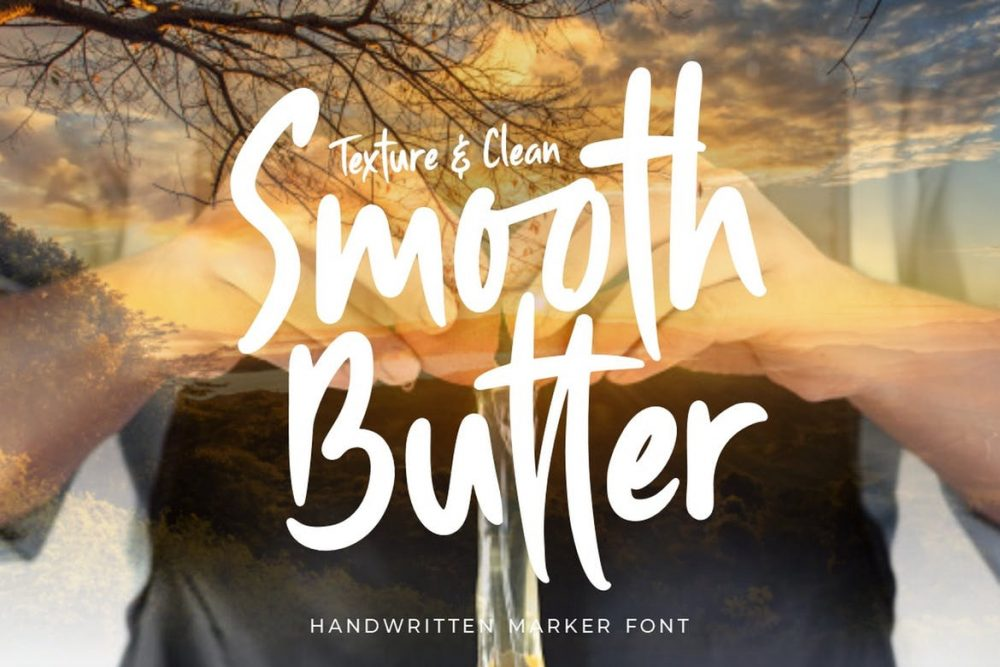 Smooth Butter Font Free Download