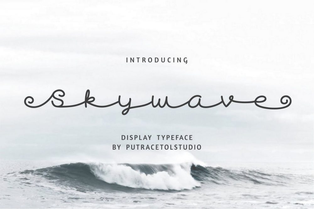Skywave Font