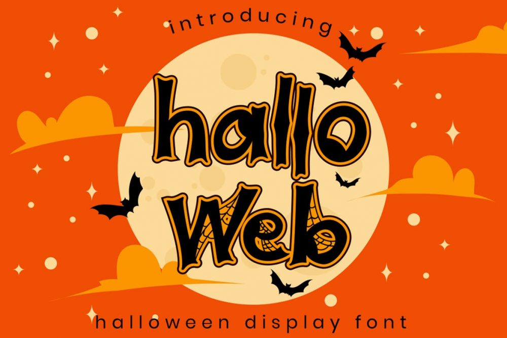 Halloweb Halloween Font