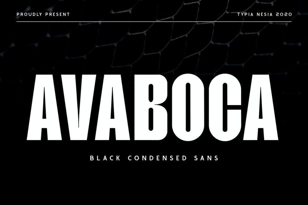 Avaboca Font