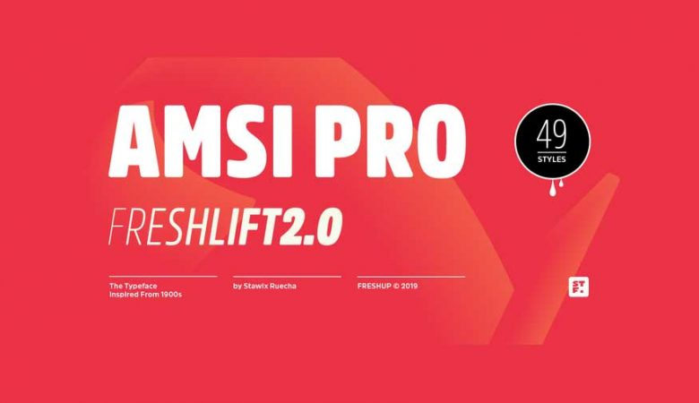 Amsi Pro Font Family Free Download