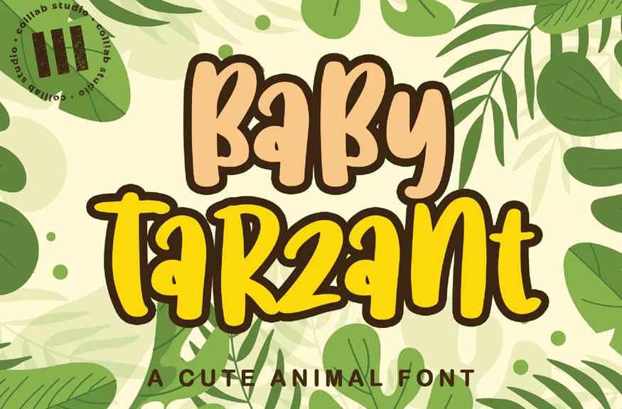 Baby Tarzant Font
