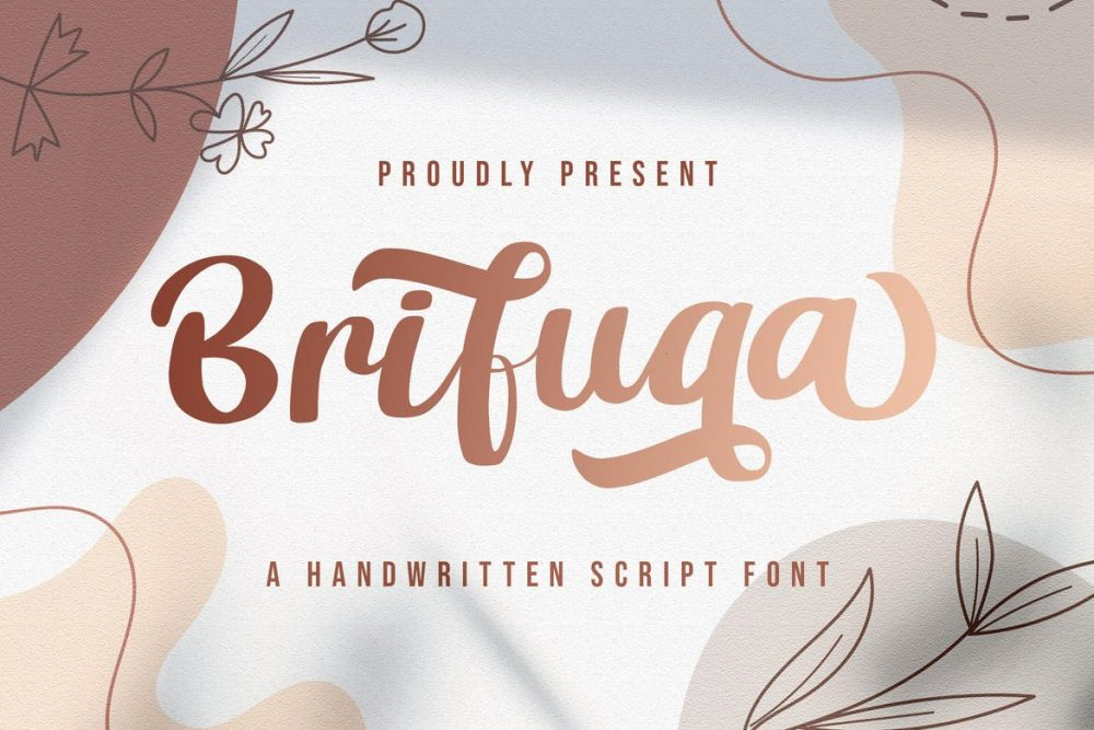 Brifuqa Handwritten Font