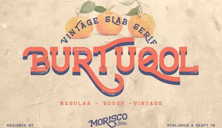 Burtuqol Vintage Slab Serif Free Download