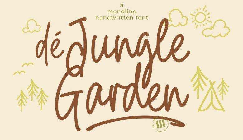 De Jungle Garden Font Free Download