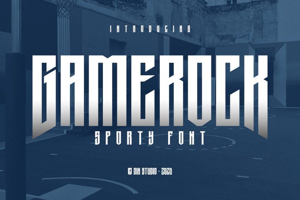 Gamerock Font Free Download