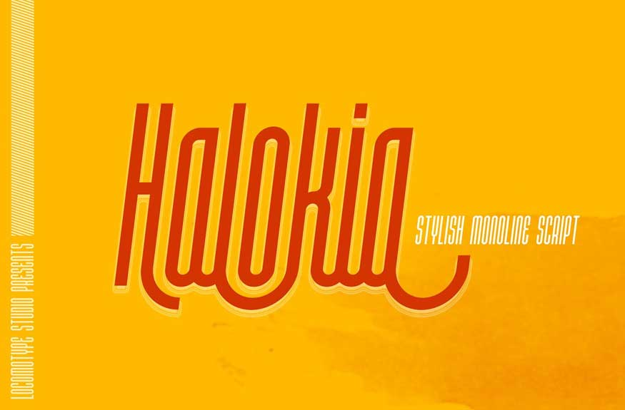 Halokia Font Free Download