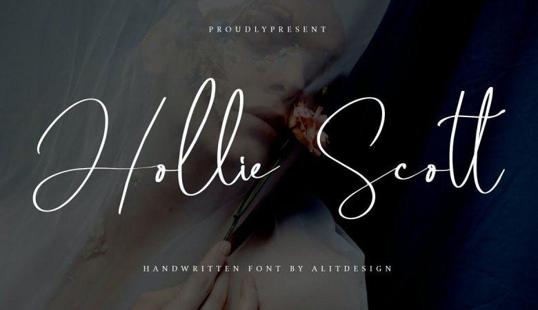 HollieScott Font Free Download