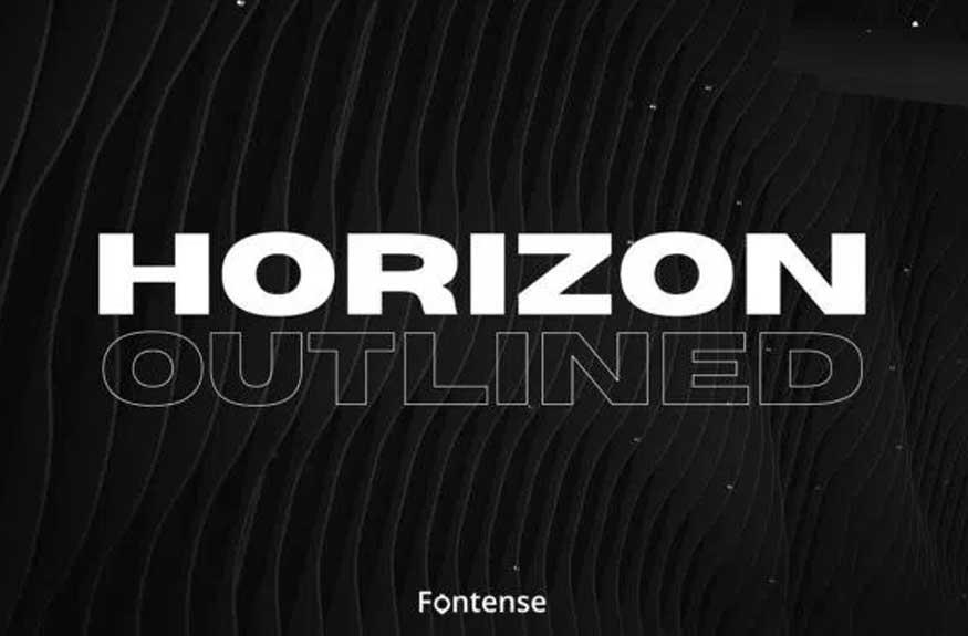 Horizon Font Free Download