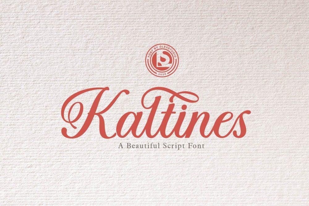 KALTINES Font