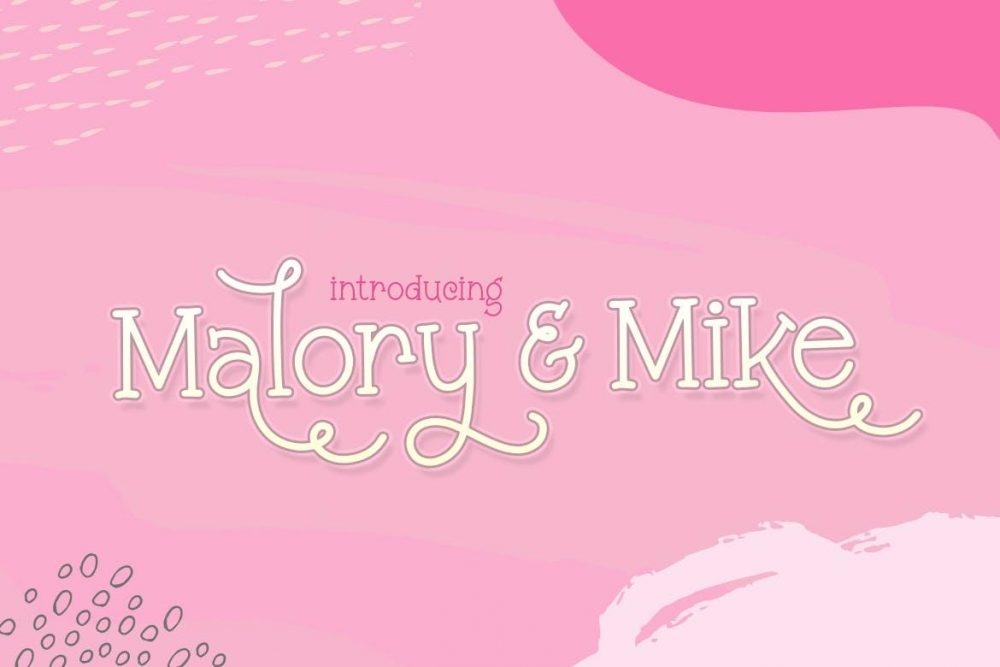 Malory & Mike Font Duo Font Free Download